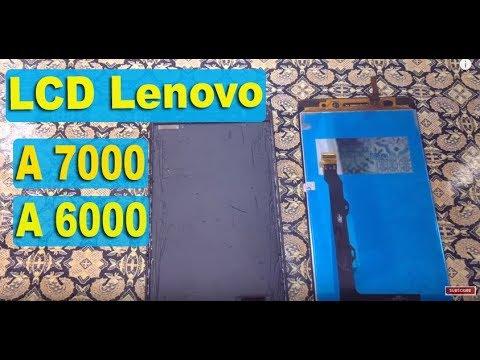 Cara Ganti LCD+touchscreen lenovo A7000 ,A6000
