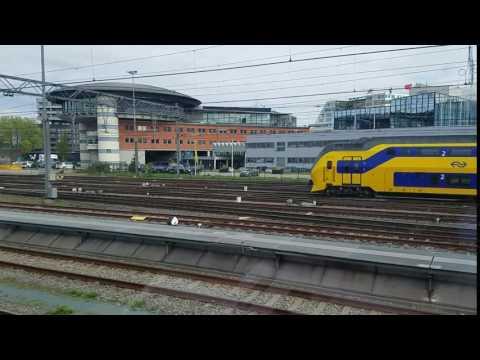 Train from Amsterdam to Keukenhof