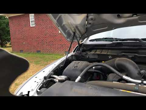 Installing 2013 Dodge Ram Hood Panel With New Clips