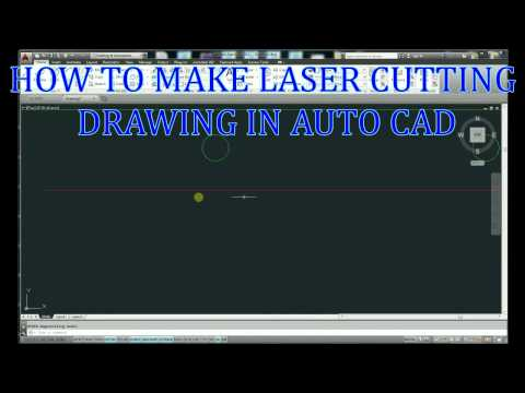 LASER CUTTING DRAWING MAKEING IN AUTOCAD