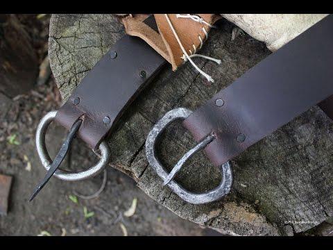 Forging Medieval Belt Buckles