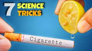 7 Awesome Science Experiments    Amazing Science Activity