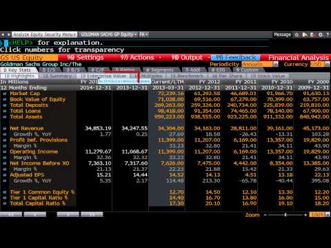 Bloomberg Training: Comparing Company Multiples Part 1- www.Fintute.com