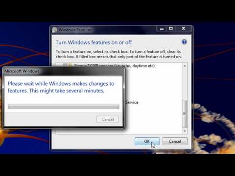 How to enable telnet in Windows Vista/Windows 7 (With Voice And Leyendas españolas!!)