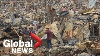 'We have nothing now': Dhaka slum dwellers reel after blaze
