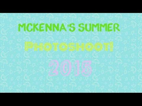 AG Doll McKenna's Summer Photoshoot 2015!
