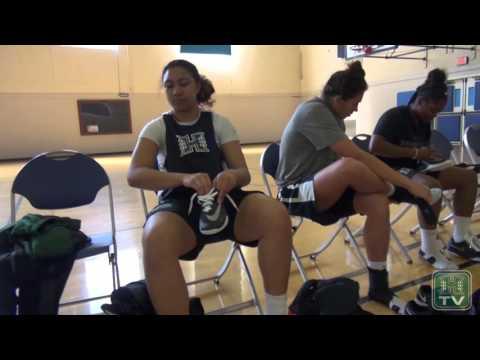 Hawaii Women's Basketball Practice At UCLA Highlights & Reaction