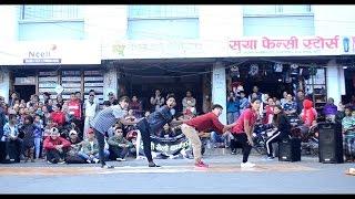 WESTERN DANCE ON TYPICAL NEPALI SONG BHAILINI BY KRISTAL KLAWS CREW
