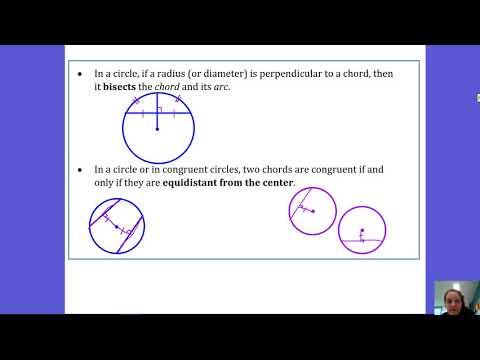10.3 Radius Perpendicular to Chord
