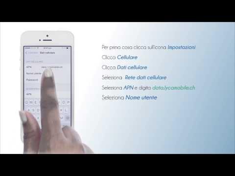 Lycamobile Schweiz - Configura internet su iPhone