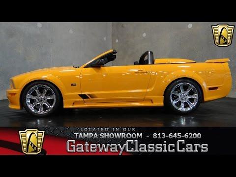 2007 Ford Mustang Saleen S281 Speedster