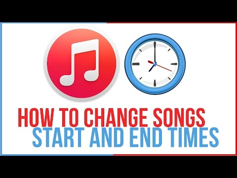 How To Change Song Start and End Times in iTunes - iTunes Tutorial