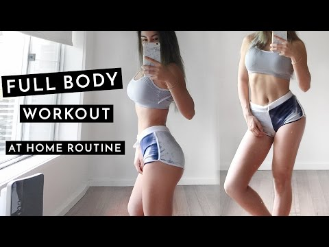 Full Body Workout Routine | Fat Burning Workout At Home