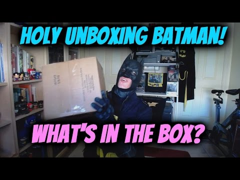 What's in the Box BATMAN!?!