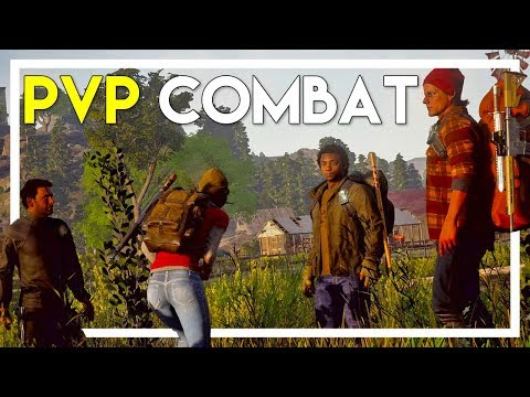 First Time PVP Combat & Crazy Trader Weapons! (State of Decay 2 Gameplay #16)