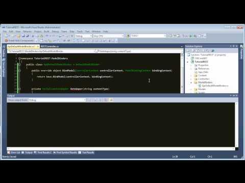 REST API in ASP.NET MVC
