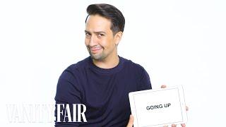 Lin-Manuel Miranda Teaches You Broadway Slang | Vanity Fair