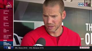 Chris Carpenter on being back in the Cardinals