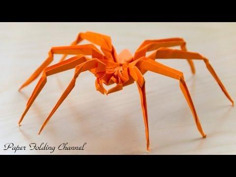 Kirikomi Origami Spider