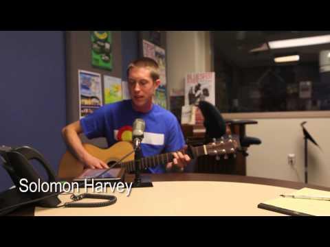 Singer/songwriter Solomon Harvey