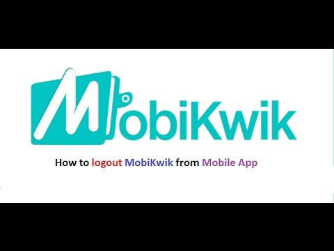 How to Logout from Mobikwik App