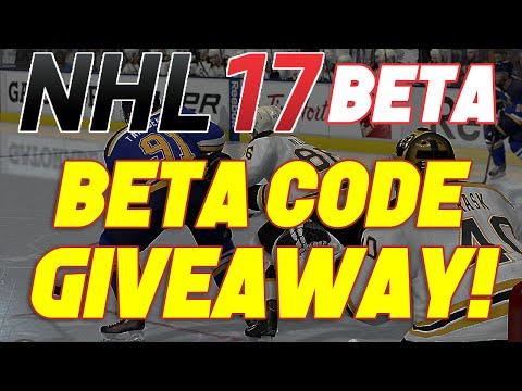 [CLOSED] NHL 17 BETA CODE GIVEAWAY! PS4 NA (3 CODE GIVEAWAY)
