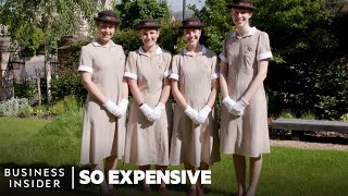 How The Most Expensive Nannies In The World Train | So Expensive