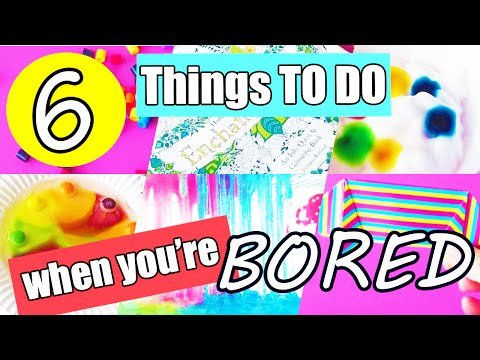 6 FUN Things To Do When You're Bored At Home! Ideas for Kids! by Bum Bum Surprise Toys
