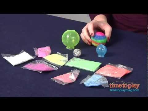 Curiosity Kits Pulsar Powerballs from The Orb Factory