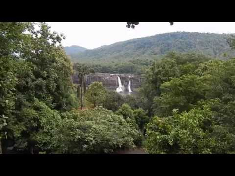 Amazing Athirappilly waterfall at God's own Country