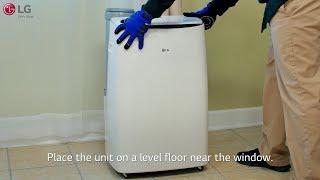 LG Portable Air Conditioner -  Installation