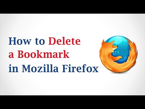 How to Delete a Bookmark in Mozilla Firefox