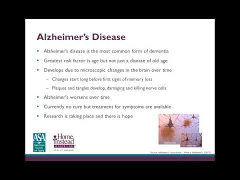 Caring for a Loved one With Alzheimer's - Professional Caregiver Webinar