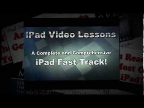 Ipad Lessons - Learn How To Use Your Ipad