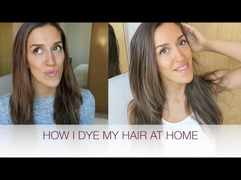 LIGHT BROWN HIGHLIGHTS, SUBTLE BALAYAGE AT HOME | natalie danza