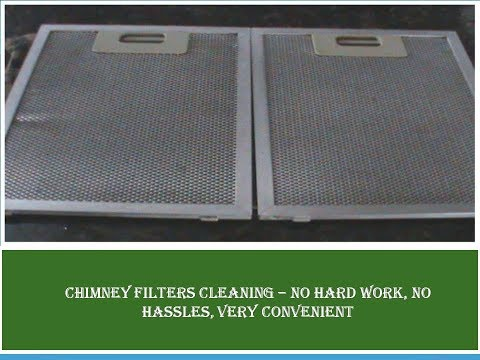 How to clean chimney mesh filters easily- No harmful chemical used