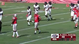 St Johns College H.S. Football vs Miami Southridge H.S. (FL)