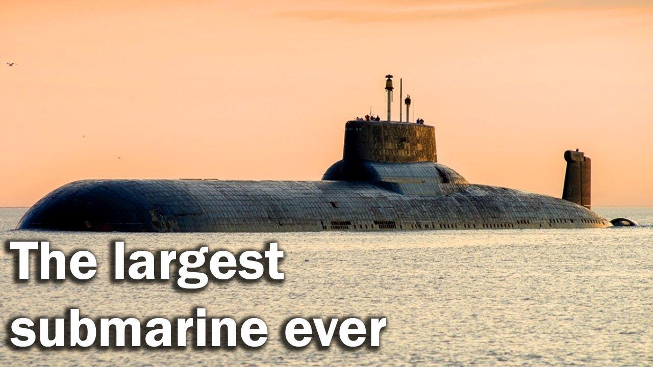 Typhoon - the largest submarine ever