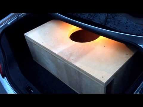 (How to) building a subwoofer enclosure!