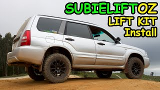 Offroad Forester Project Ep2  Lift Kit install - getplaypk