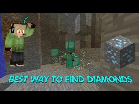 FASTEST WAY TO FIND DIAMONDS IN MINECRAFT 1.12