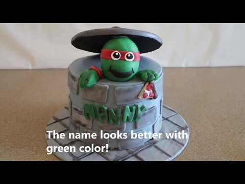 Ninja Turtle Cake | Ninja Turtle Party Ideas | DIY and How to |