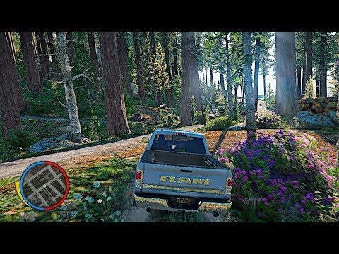GTA 5 Ultra Settings 4k 60FPS on a $10,000 Custom Gaming PC! NVR Realistic Graphics Mod!