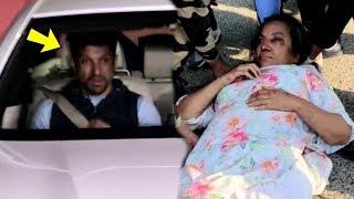 EMOTIONAL Farhan Akhtar After Seeing INJURED Mother Shabana Azmi In Hospital