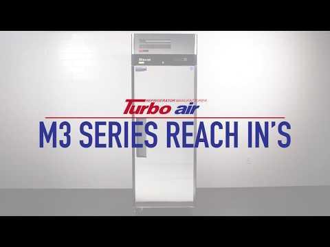 Turbo Air M3 Series Reach-In Refrigerators