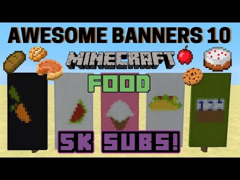 ✔ 5 AWESOME MINECRAFT BANNER DESIGNS WITH TUTORIAL! #10
