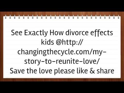 Divorce Effects Children: Discover What Impact Divorce Can Influence Childrens Future