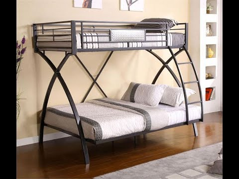 Best Metal Frame Twin Over Bunk Beds, Bunk Bed Idea for Small Bedroom - Bedroom Ideas