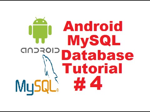 Android MySQL Database Tutorial 4 - Insert Data in Mysql Database using Registration Form