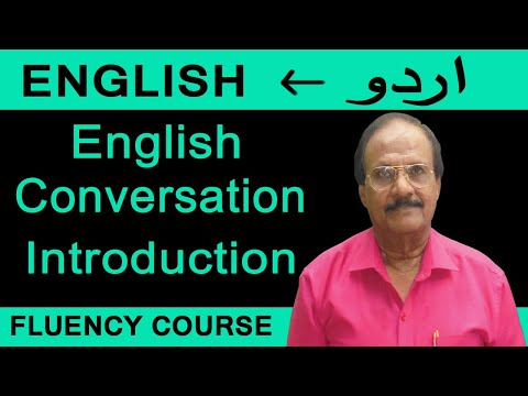 Spoken English through Urdu.Course is available in pen drive.www.nafisasinstitute.com